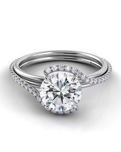 Diamond Engagement Ring | Abbraccio Diamond | http://trib.al/moKD3ik