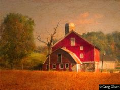 Red Barn - Greg Olsen