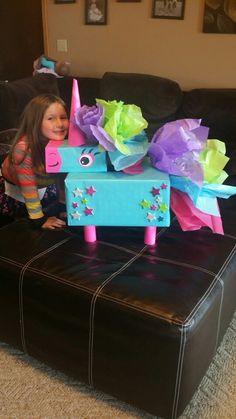 Billie's valentine unicorn box