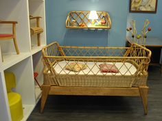 #VINTAGE# Kids bed 1960 www.lamarelle-antiquites.com