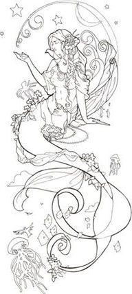 mermaid drawing - Google zoeken