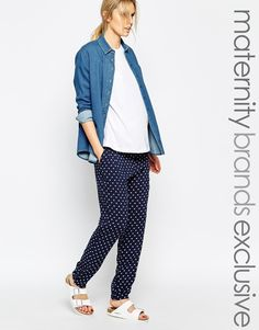 Mamalicious Relaxed Trouser