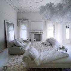 White #interior #stucco #white