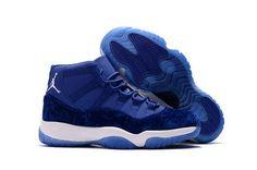 Air Jordan 11 Velvet Heiress Blue