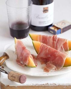 Sweet Paul's Prosciutto & Melon... a simple favorite of mine!