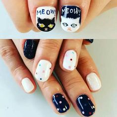 Pin by Eliza Leung on nail art for lazy girl | Pinterest | Lazy girl