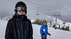 Elliott Family skis Utah