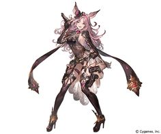 View an image titled 'Catherine Art' in our Granblue Fantasy art gallery featuring official character designs, concept art, and promo pictures. Female Character Design, Character Design References, Character Concept, Character Art, Concept Art, Cute Characters, Fantasy Characters, Female Characters, Anime Characters
