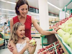 Become a smarter shopper and learn the difference between #organic and nonorganic foods. Not only is this good for you--but your #family as well!  #health
