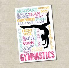Muestra de gimnasia INSTANT PDF Descargar por LaneLoveDesign
