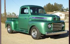 49 Ford f1 pickup....love this color