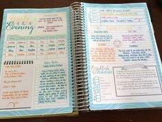 Planner Overview for the Mormon Mom Planner and the Mom-on-the-go planner  Family Home Evening Spread