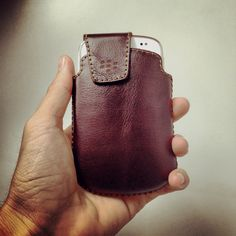 Blackberry 9900 Sen Leather Case