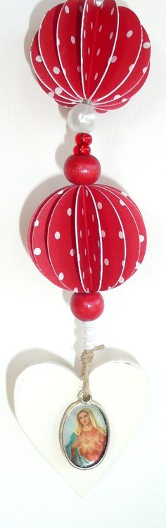 . Paper Mobile, Paper Balls, Decoration, Art Forms, Mobiles, Embellishments, Christmas Bulbs, Valentines Day, Jewelery