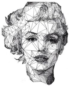 Marilyn Monroe  -Crisp Black and White Portraits by Josh Bryan - wave avenue