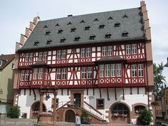 Hanau Germany is famous for being the birthplace of the Grimm brothers, the publishers of the well-loved fairy tales.