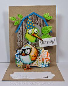 Lovin The Life I Color: My 2nd card for this months Karen Burniston Designer Challenge!