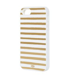 Gold Stripes iPhone 5 Case - INLAY