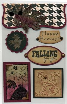 Fall Card Candy by cr8zyscrapper - Cards and Paper Crafts at Splitcoaststampers