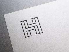 H by José #Design Popular #Dribbble #shots