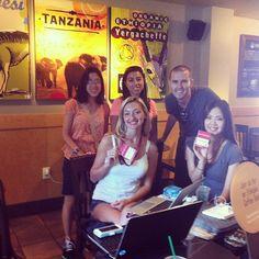 Pop-Up Newsroom reporters. Photo by Taeko Morimura.