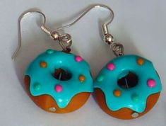 Fashion style Earrings food from claires for lady