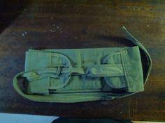Light-weight canvas storage pouch