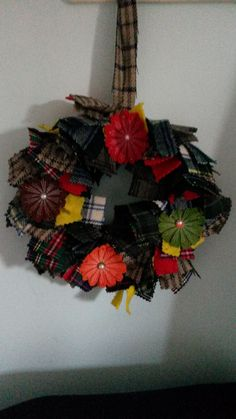 rag wreaths not just for christmas