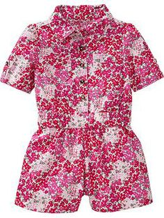 Floral-Print Rompers for Baby | Old Navy
