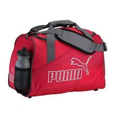 24.00 (Was  44.99) PUMA SPORTS BAG WITH WATERBOTTLE RASPBERRY 29 LITRES   Rebel  Sports 55c0491ac879a