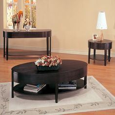 Enhance your décor with the Coaster Furniture Oval Coffee Table – Cappuccino designed with a rich cappuccino finish. Its oval shape and. Coffee Table With Drawers, Coaster Fine Furniture, Oval Coffee Tables, Contemporary Coffee Table, Low Shelves, Sofa Tables, Console Table, Coffee Table Design, Toscana
