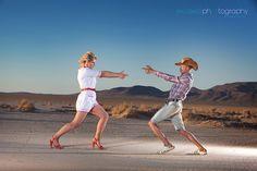 Las Vegas Event and Wedding Photographer - Trash the Dress Session, Dry Lake, Las Vegas Professional Portraits on location