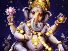 Ganesha Mantra sung by Wah  To remove obstacles, particularly when taking on a new endeavor