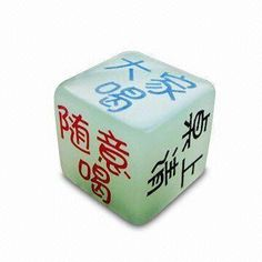 Dice-shaped PU Stress Ball, Customized Sizes Available, Made of Acrylic and Fluorescent Material Wholesale Tote Bags, Stress Ball, Stress Toys, Business Names, Dice, Shapes, Gifts, Presents, Company Names