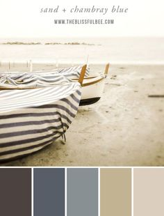 Color Stories – Sand + Chambray