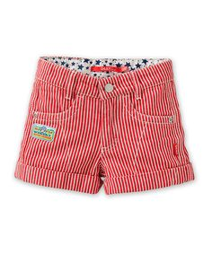Another great find on #zulily! Oilily Red Ploem Shorts - Toddler & Girls by Oilily #zulilyfinds