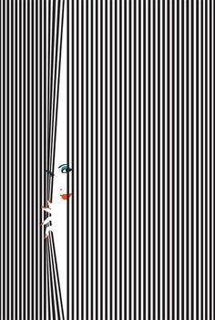Hide and Seek – limited edition screenprints by Malika Favre