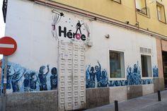 Calle de Los Desamparados, 3. Barrio Huertas y Las Letras. Madrid 2015.