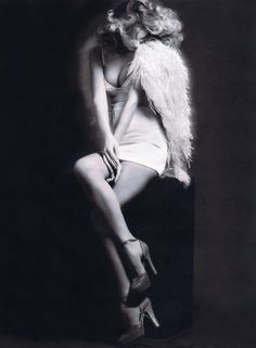 Fashion Editorial + Sexy + Angel