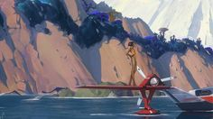 ArtStation - Vacation, Leonid Kolyagin