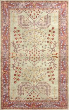 I love this rug for your foyer, not the door rug - the one in the middle, but I think it's too strong a contrast with your office rugVS85