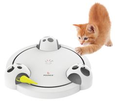 Encourage hours of play with the Frolicat Pounce Electronic Mouse Toy!