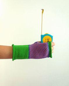 guanti di lana manicotti a maglia guanti senza di lorettascarves