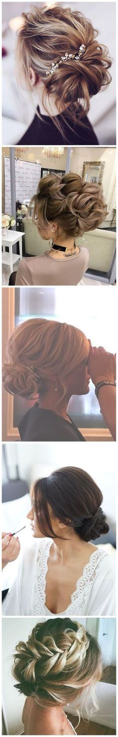Wedding Hairstyles » Come and See why You Can't Miss These 30 Wedding Updos for Long Hair❤️ See more: http://www.weddinginclude.com/2017/02/come-and-see-why-you-cant-miss-these-wedding-updos-for-long-hair/