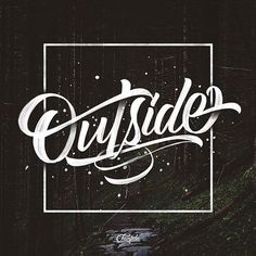Creative Typography image ideas & inspiration on Designspiration Typography Images, Creative Typography, Typography Inspiration, Typography Letters, Typography Logo, Design Inspiration, Types Of Lettering, Script Lettering, Brush Lettering
