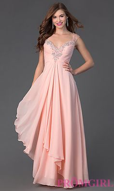 Floor Length Prom Dress with Sweetheart Neckline. Shop the look: http://www.promgirl.com/shop/dresses/viewitem-PD1393390