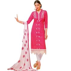 Ready Made Cotton Embroidered Salwar Kameez Suit Indian Bollywood #Designer #FreeShipping #LowestPrice #ShopNow #DressMaterial #SalwarKameez #NewStuff #SalwarSuit