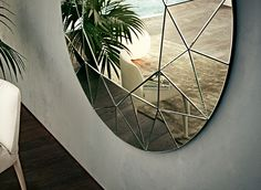 Gallotti & Radice - Dream mirror, detail. It is all in the details...the cheap copies of this piece pale.