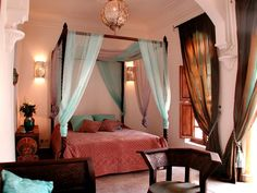 Suite Turquoise, Riad Laora, hotel in Marrakech.