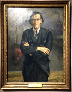 James Maxton by Sir John Lavery, Scottish National Portrait Gallery
